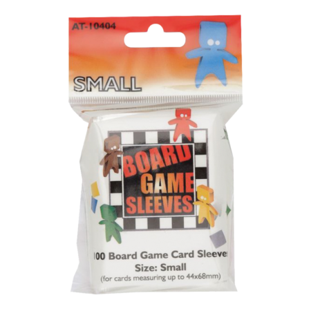 BOARD GAMES SLEEVES - CLEAR...