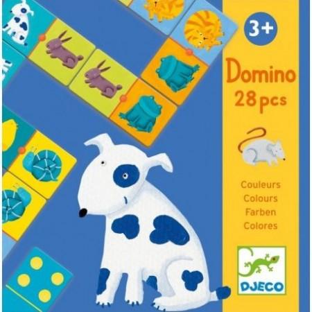 DOMINO COLOUR ANIMALS - JEU...