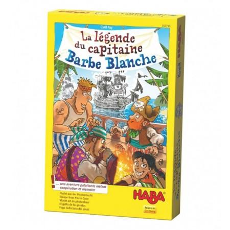 LEGENDE DE BARBE BLANCHE