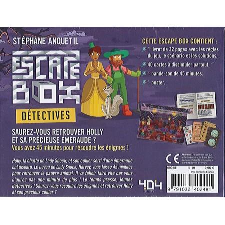 DETECTIVES - ESCAPE BOX