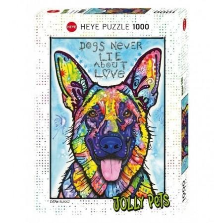 1000P DOGS NEVER LIE HEYE