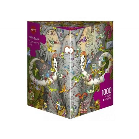 1000P - ELEPHANTS LIFE DEGANO