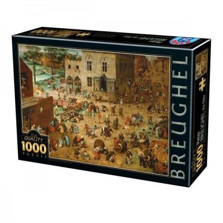 1000P BREUGHEL LES JEUX...