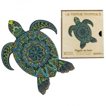 TORTUE TROPICALE - PUZZLE...