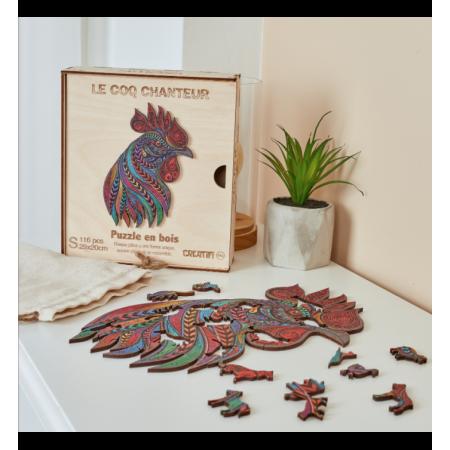COQ CHANTEUR - PUZZLE CREATIF