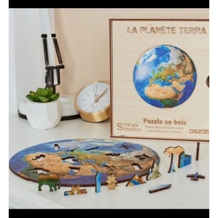 PLANETE TERRA - PUZZLE CREATIF