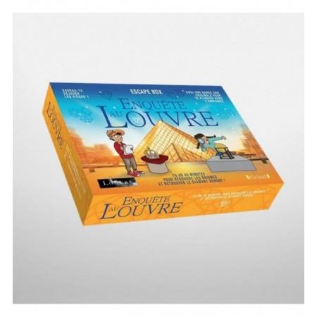 ENQUETE AU LOUVRE - ESCAPE BOX