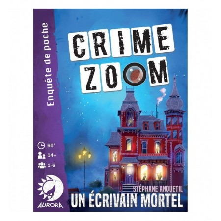 CRIME ZOOM - UN ECRIVAIN...
