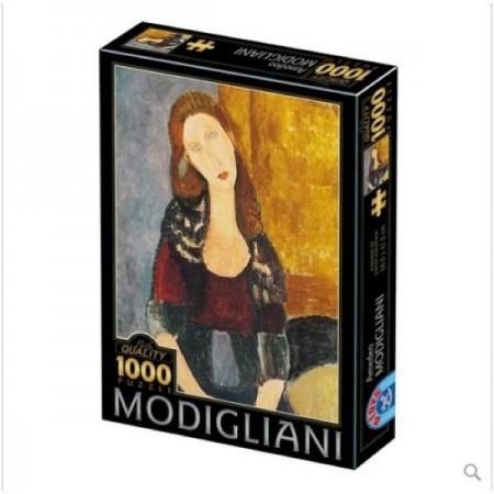 1000P MODIGLIANI PORTRAIT...