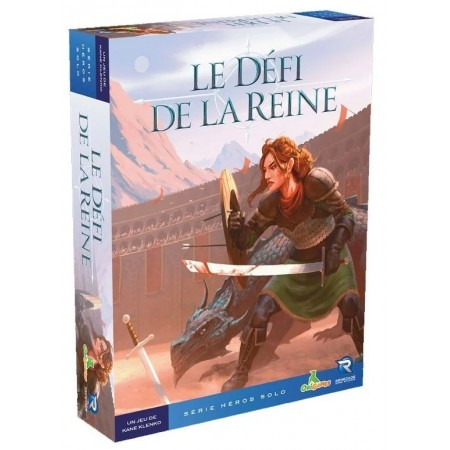 LE DEFI DE LA REINE - HEROS...