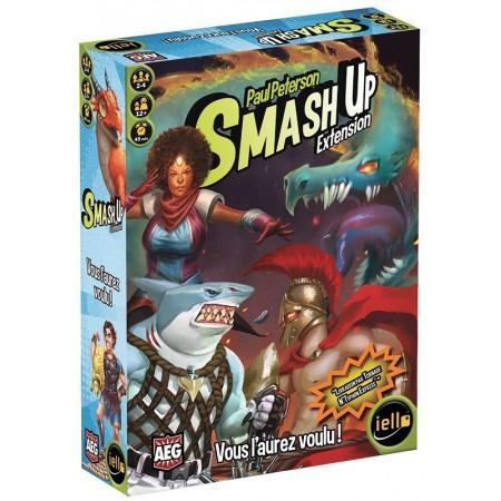 VOUS L'AUREZ VOULU : SMASH UP