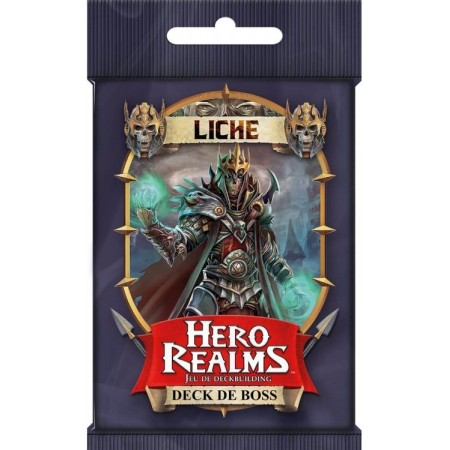 DECK BOSS LICHE - HERO REALMS