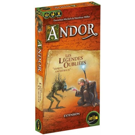 LES LEGENDES OUBLIEES : ANDOR